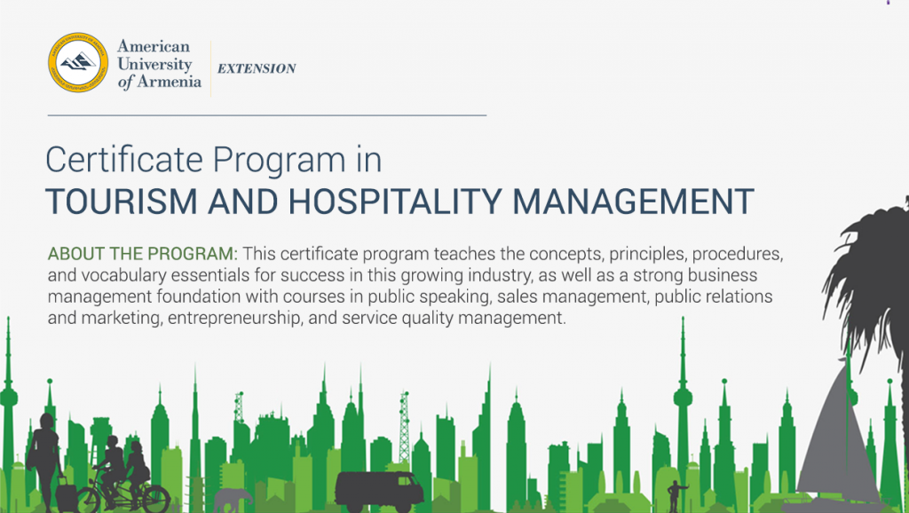 Certificate Program In Tourism And Hospitality Management Aua