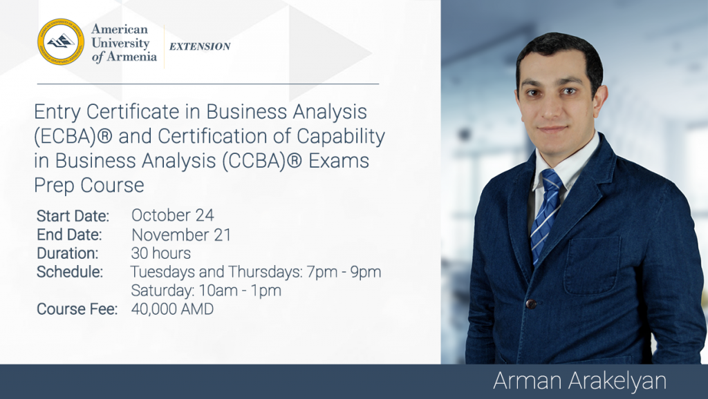 Entry Certificate In Business Analysis Ecba Certification Of